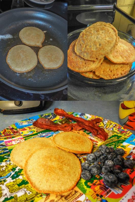 Almond Flour Pancake trilogy